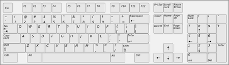 Keyboard (Gray)